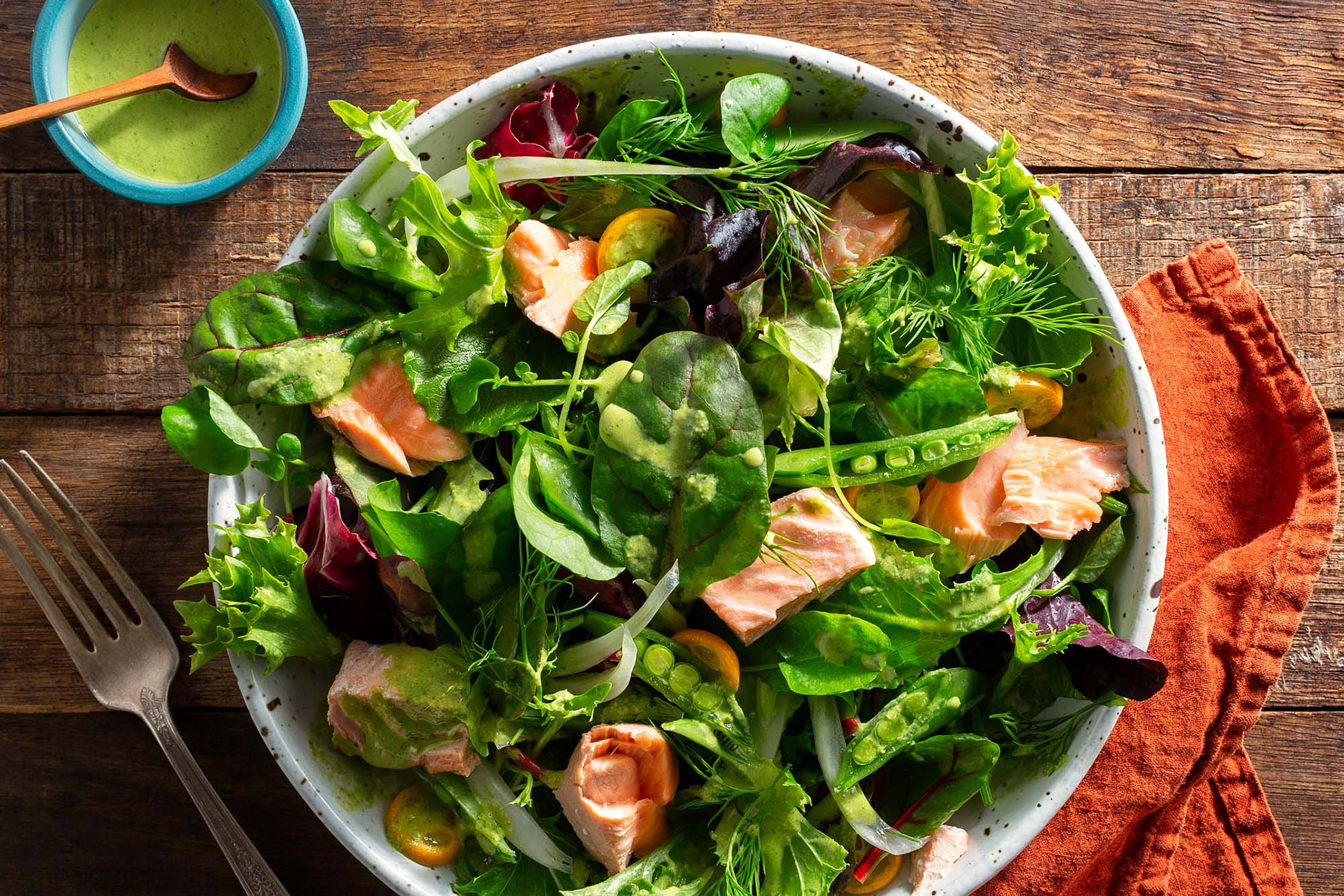 S182_Poached-Salmon-Salad-Tahini-Goddess-Dressing_Menu-Page